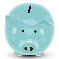 Koicaxy Piggy Bank, Child to Cherish Ceramic Pig Money Piggy Banks for Boys Kids