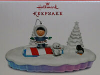Hallmark Keepsake Frosty Friends Lighted Table Top Display New Original box