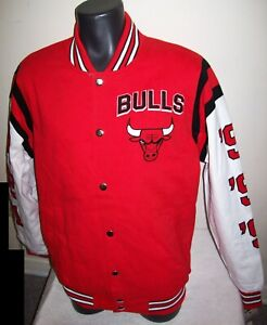 CHICAGO BULLS 6 TIME NBA FINALS CHAMPIONS Jacket  LARGE  2020