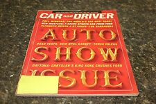 CAR AND DRIVER AUTO SHOW ISSUE MAY 1964 VOL.9 #11 9248-1 [LOC.ELK] (BOX C) #405