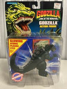 GODZILLA King Of The Monsters 1994 Trendmasters, Glowing Atomic Eyes, RARE NEW