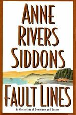 NEW - Fault Lines : A Novel by Anne Rivers Siddons