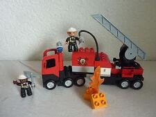 LEGO Duplo Feuerwehrlöschzug - Feuerwehr Set 4977 mit Licht & Sound -  TOP!