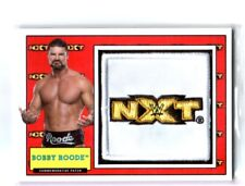 WWE Bobby Roode 2017 Topps Heritage NXT Com Patch Relic Card SN 253 of 299
