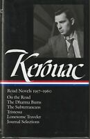 JACK KEROUAC - ROAD NOVELS 1957-1960, LIBRARY OF AMERICA 1ST EDITION LIKE NEW