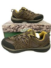 Eastland Men's Hiking Trail Shoes Olympus Olive Suede Size 8 Ortholite Outdoor