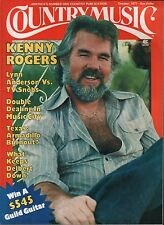 Country Music Magazine October 1977  Kenny Rodgers EX 120315DBE