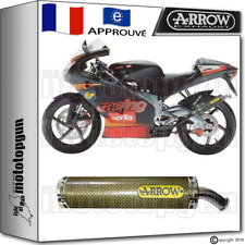 ARROW SILENCIEUX ROUND KEVLAR HOM APRILIA RS 125 REPLICA 2001 01 2002 02 2003 03