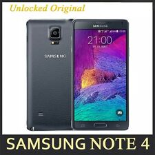 SAMSUNG Smartphone Galaxy Note IV 4 SM-N910A 4G LTE 32GB Factory Unlocked Black