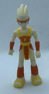 "2004 DC Comics Teen Titans Go LIGHTNING 3.5""h Action Figure"