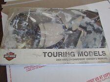 OEM HARLEY-DAVIDSON TOURING MODELS 2004 OWNER'S MANUAL. 99466-04