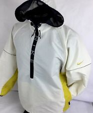 Vintage Nike Jacket Hooded Windbreaker Pullover 1/2 Zip Rain Women S 4-6 RARE