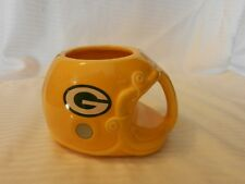 Green Bay Packers Ceramic Helmet Coffee Mug With Logos