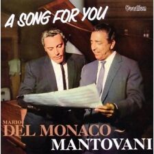 MARIO DEL MONACO - MANTOVANI - A SONG FOR YOU - CD