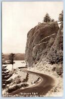 1920's RPPC CROSS & DIMMITT #441*BISHOPS CAP*COLUMBIA RIVER HIGHWAY OREGON