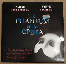 "SARAH BRIGHTMAN & STEVE HARLEY - The Phantom Of The Opera ~7"" Vinyl Single~"