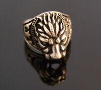 925 Sterling Silver Handmade Antique Turkish  Men's Ring Size 9-13