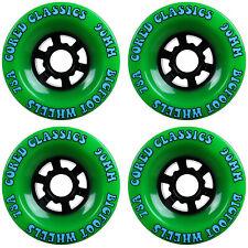 Bigfoot Longboard Wheels 90mm 78a Cored Classics Green (Set of 4)