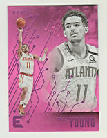 2019-20 Panini Chronicles ESSENTIALS PINK PARALLEL #205 TRAE YOUNG Atlanta Hawks