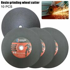 10 x Cutting Disc Wheel Thin Angle Grinder Cut Off Metal Steel Flap 355mm