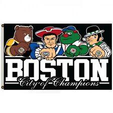 New listing Boston City Of Champions SoxCelticsBruins Patriots Fan Flag Banner 3x5ft