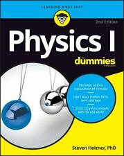 Physics I for Dummies by Steven Holzner (2016, Trade Paperback)