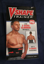 V-Shape Trainer-New-Black-S/M-Des igned To Help Strengthen Core-For Everyday Use