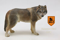 1:6 Mr.Z NO.7 Steppe Wolf 004 Animal Toy Siberian Wolf Model
