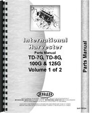 International Harvester Crawler Parts Manual Ih P Td7g