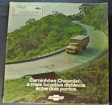 1974 Chevrolet Trucks Brochure Brazil Market Portuguese Text Original 74