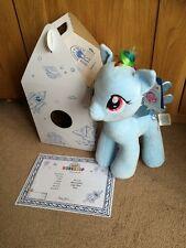 BNIB Build A Bear Rainbow Dash My Little Pony with box & certificate ,