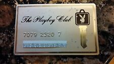 Vintage Collectible Playboy Club key......Collectible...metal club card key