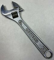 "Vintage ARTISAN Tools 6"" Adjustable Crescent Wrench Made in USA Tool Artisan"