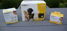 Medela Pump in Style Advanced Double Electric Breast Pump Kit Tote Milk Bags Set