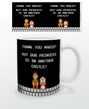 SUPER MARIO ANOTHER CASTLE 11 OZ MUG NINTENDO VIDEO GAMES CLASSIC FUN TOAD LUIGI