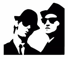 Blues Brothers Vinyl Decal / Sticker