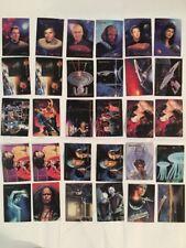 "30 ""Star Trek "" Trading Cards Lot Skybox Master Series 1993"