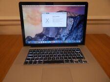 Apple MacBook Pro 15 Mid 2009 2.53GHz C2D MC118LL/A 4GB 250GB A1286 Laptop