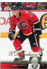 10/11 UPPER DECK UD EXCLUSIVES #278 MATT STAJAN 097/100 FLAMES *46835