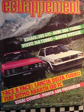 ECHAPPEMENT 1983 FIAT RITMO ABARTH / LANCIA DELTA TURBO / OPEL MANTA GROUPE B