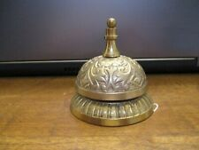 Etched Brass Elephant Bell