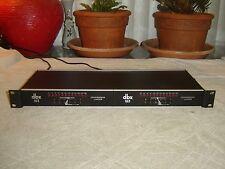DBX 163 Pair 1 Channel Works, Original Over Easy Compressor Limiter Vintage Rack