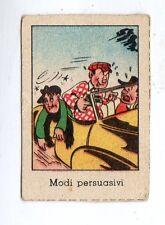 FIGURINA NANNINA  TECNICOLOR 1° SERIE  APRILE  1947  VILLY   MODI  PERSUASIVI