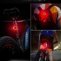 1pc Waterproof Durable Lightweight Practical Warning Light Bike Tail Light Women