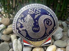 RAC WEST SLS RALLYE 1961 SCHEVENINGEN - LUXEMBURG Automobil Club Plakette Badge