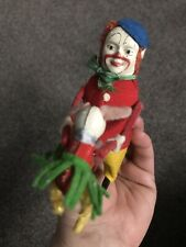 SCHUCO WIND-UP Dancing CLOWN HOPSA W/Baby & KEY. FULLY OPERATIONAL! Nice! NR