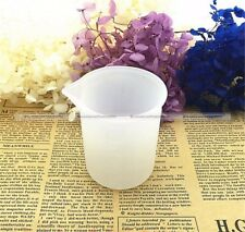 1Pc Scale 100ml Measuring Cup Silicone Resin Craft Tools S8