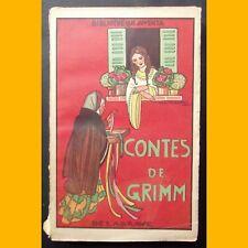 Bibliothèque Juventa CONTES DE L'ENFANCE ET DU FOYER Grimm Zig Brunner 1935