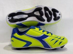 Soccer Youth futbol shoes CLEATS Diadora CAPITANO MD JR NIB
