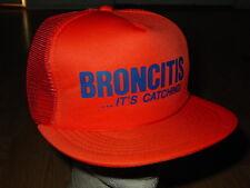 Vintage Broncitis - It's Catching Hat broncos denver football nfl cap